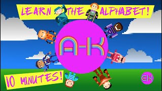 Letters A through K Vignette Compilation | Early Learner | Elektro Kids