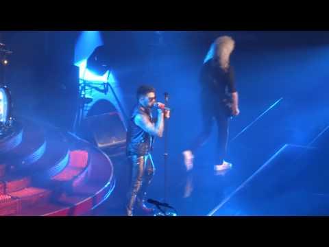 Queen & Adam Lambert - Stone Cold Crazy @ Mohegan Sun Arena, Uncasville 07/23
