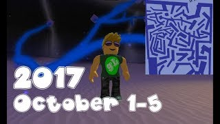 ROBLOX Lumber Tycoon - Blue Wood - Maze Guide - Carte labyrinthe - 2017 1 octobre