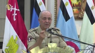 بالفيديو والصور.. رئيس الأركان: القوات الجوية حققت ضربات ناجحة ضد الإرهاب في سيناء