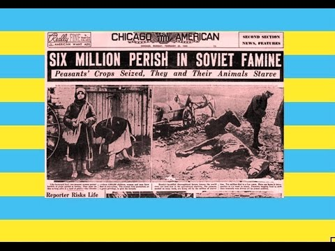 Have you heard of the Ukraine HOLODOMOR??