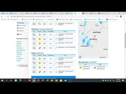 คลิปการวิเคราะห์ลักษณะอากาศและคลื่นลม วันที่ 24 กุมภาพันธ์ 2564 เวลา 14.00 น.