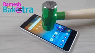 Nokia 6 Screen Scratch Test Gorilla Glass 3
