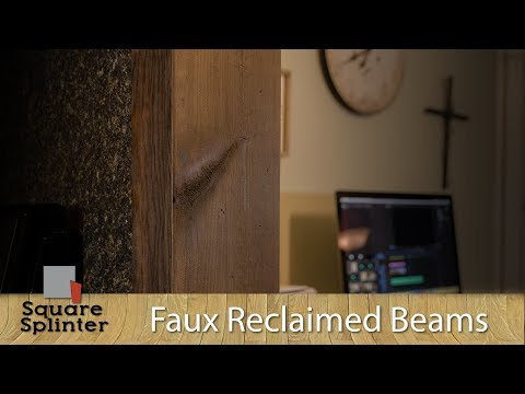 Building Faux Wood Beams from Dimensional Lumber | DIY Ideas | Quick Builds