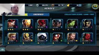 Marvel: Avengers Alliance 2 - Cheated (Modded) APK + Links