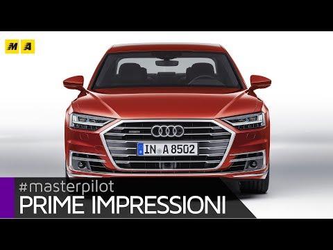 Nuova Audi A8 2017, dal 2018 anche plug-in hybrid a ricarica wireless | Prime impressioni [SUB]