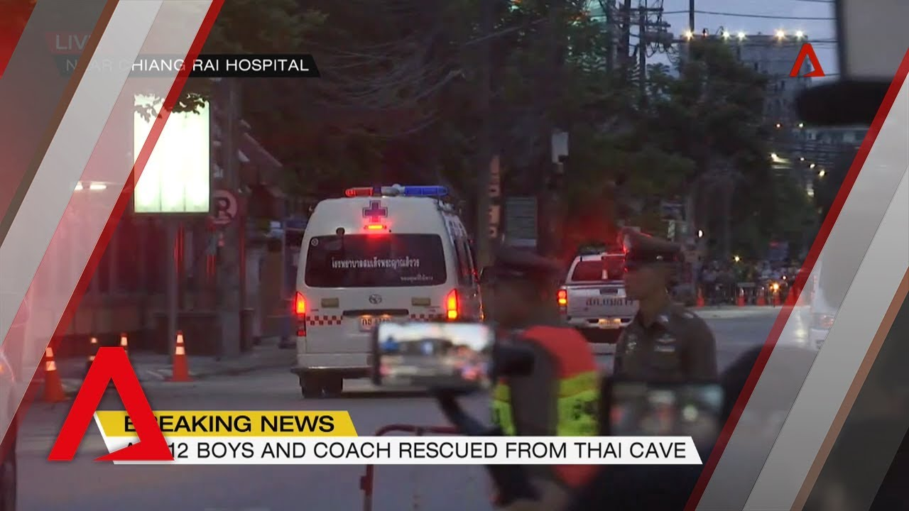 Thai cave rescue: All 13 'Wild Boars' rescued