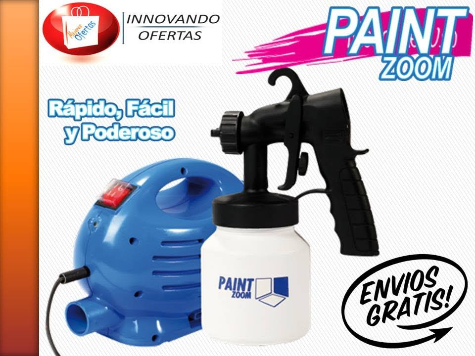 premium selection 2fe06 f70d4 Pistola para pintar Paint Zoom - YouTube