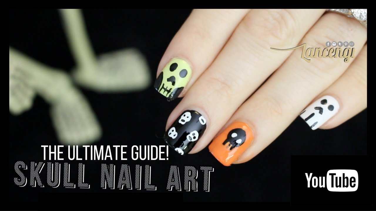 Diy halloween nail art the ultimate skeleton guide contest diy halloween nail art the ultimate skeleton guide contest youtube prinsesfo Gallery