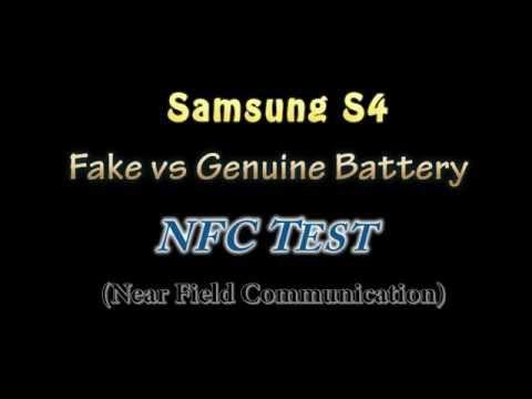 Samsung S4: Fake Vs Genuine Battery - NFC Test