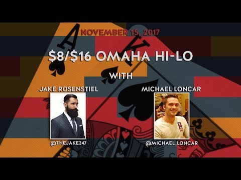 $8/$16 Omaha Hi-Lo with Veronica and Friends, Nov 15 2017