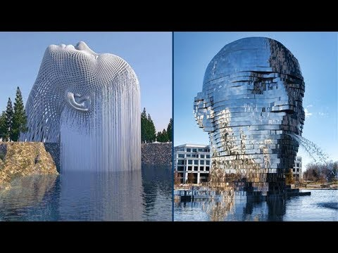 Most Creative Water Fountains From Around the World |