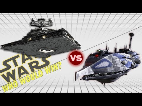 Imperial II Star Destroyer vs Providence Class Dreadnought | Star Wars: Who Would Win