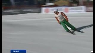 Антон Кушнир завоевал бронзу на этапе Кубка мира по фристайлу