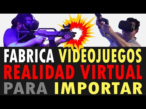 Fabrica juegos VR | videojuegos realidad virtual para importar