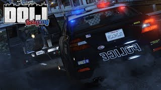 GTA 5 PS4 Roleplay - DOIJ 13 - (LEO) Live on Duty | WHEELCAM