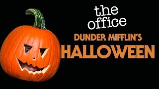 Halloween At Dunder Mifflin | The Office US | Comedy Bites