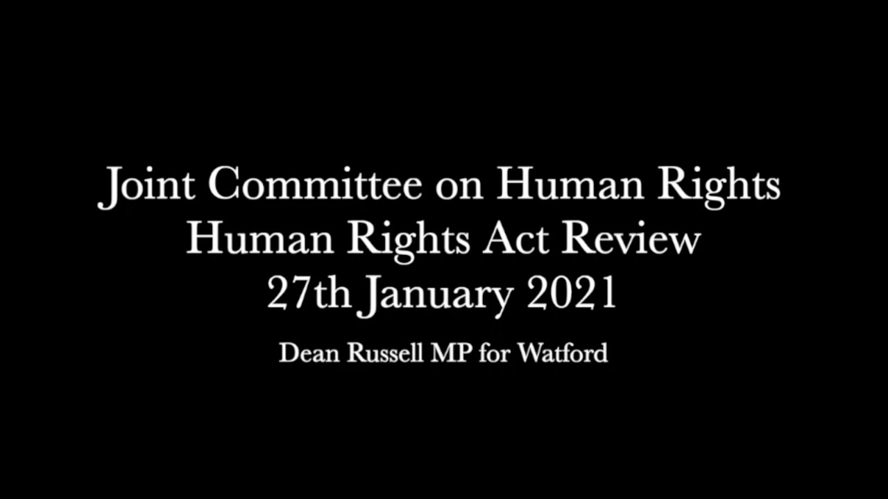Human Rights Joint Committee: Dean Questions Former Attorney General And Supreme Court President