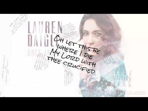 Lauren Daigle - Once And For All (Instrumental) (Lyric Video)
