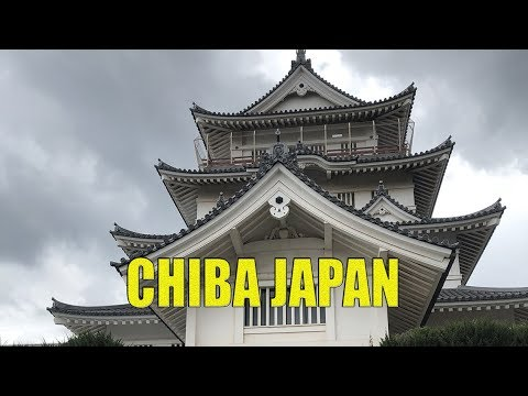 Chiba Castle and Shrine, Japan. 50 Minutes (HD)