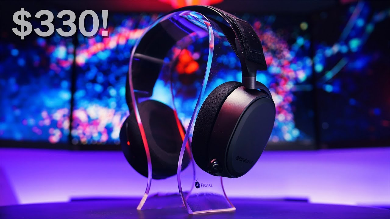 01582792d10 The Most Expensive Gaming Headset Ever! SteelSeries Arctis Pro Wireless  Review.