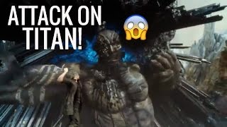 FINAL FANTASY XV PART 8 FIGHTING A BIG ASS TITAN!! FINAL FANTASY TITAN TRIAL BOSS FIGHT! | Alternative Gamer