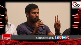 Vishal & Gnanavelraja speaks about Vijay's Theri & Surya's 24 Movie pirated at PVR, Bangalore