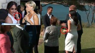 Meghan Markle Tribute to Princess Diana during visit to Australia
