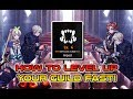 [Epic Seven] | How To Level Your Guild Up Fast