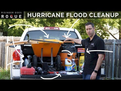 Best Tools and Tips for Hurricane Flood Clean-up
