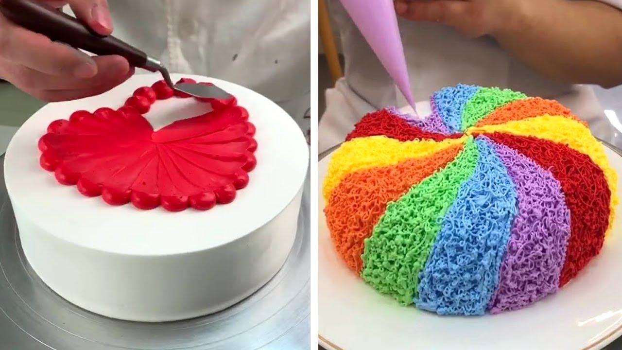 So Tasty Cake Decorating Recipes | Most Satisfying Chocolate Cake Ideas Compilation