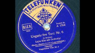 Lajos Kiss mit Orchester - Ungarischer Tanz Nr. 6 (J. Brahms)