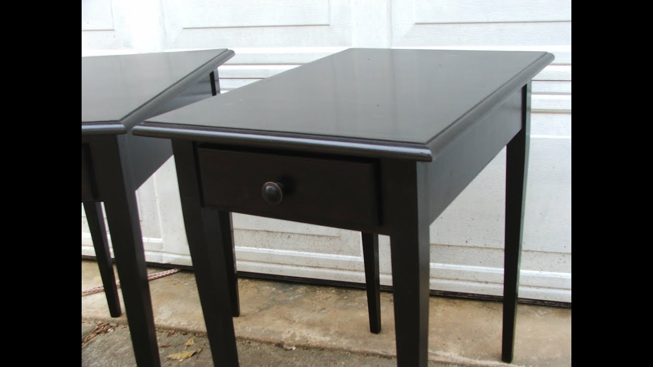 MAKE Attractive END TABLES YouTube - How to build an end table