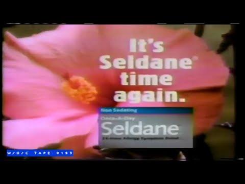 Seldane Allergy Pills Commercial – 1990