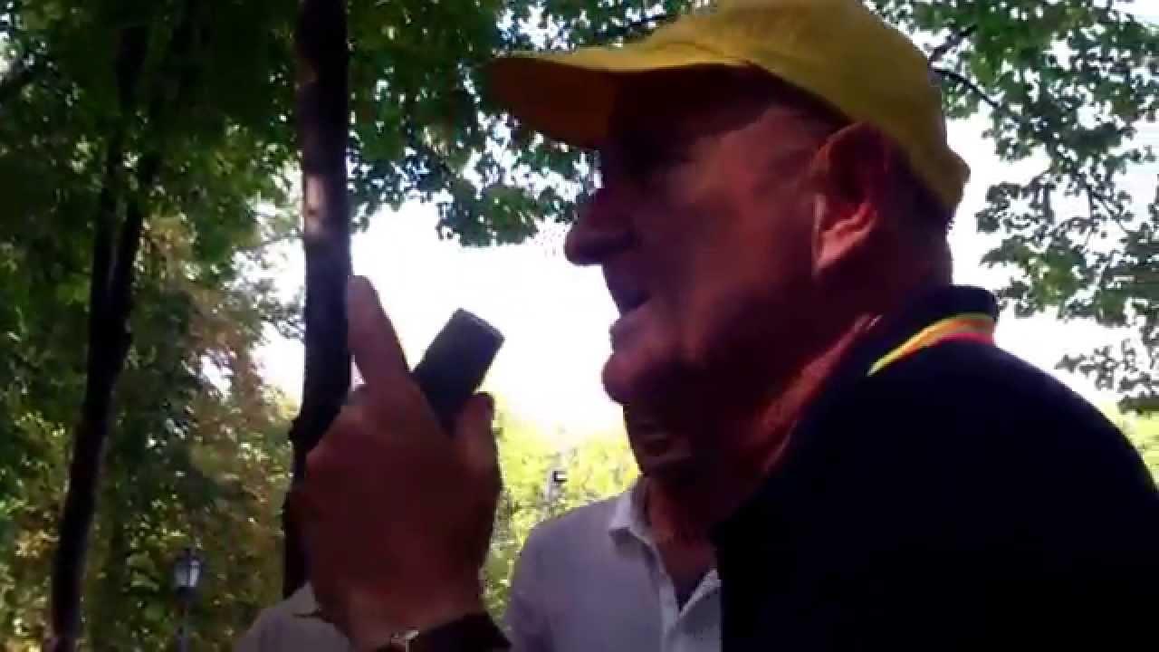 Un antiamerican a stîrnit roiul antirusesc la Microfonul liber