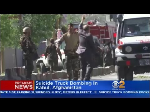 Suicide Car Bombing In Kabul, Afghanistan