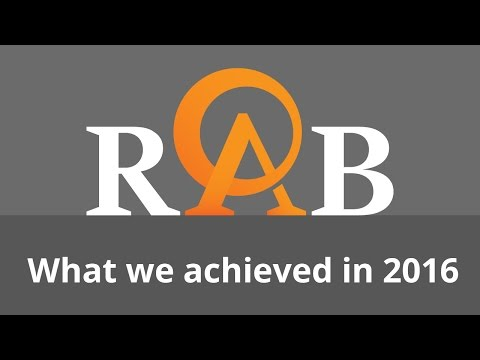 RAB - What we achieved in 2016