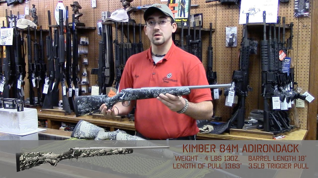 Kimber Mountain Ascent & 84M Adirondack - Comparison and Features on  Lightweight Hunting RIfles