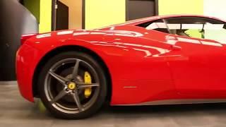 Nasiol - ZR53 Nano Ceramic Application on Ferrari Italia