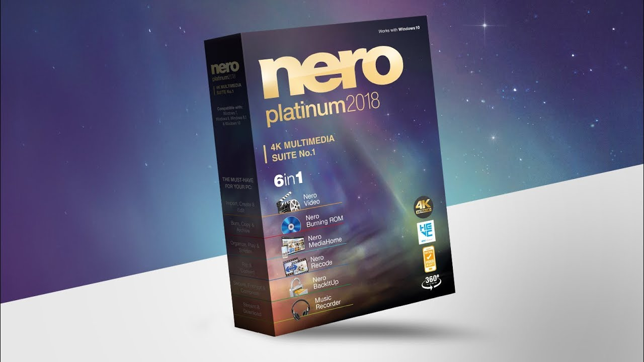 Image result for Nero 2018 Platinum 19