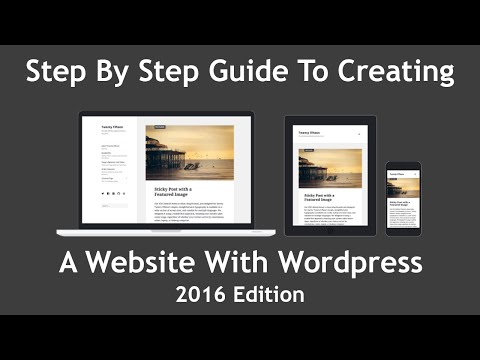 [Guide] How To Make A Wordpress Website From Scratch -  Step By Step - 2016 Edition (Part 1)