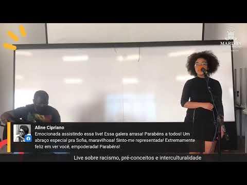 Live sobre Racismo, pré-conceitos e interculturalidade