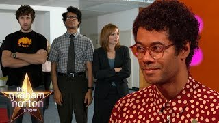 Richard Ayoade On Playing Nerdy Moss In The IT Crowd | The Graham Norton Show