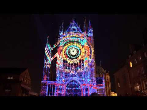 2019 Mapping Cathédrale