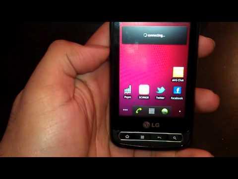 Virgin Mobile LG Optimus Slider Unboxing