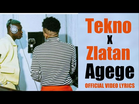 Tekno, Zlatan   Agege  official video lyrics