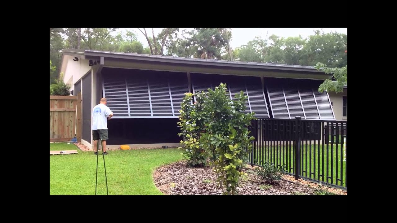 Bahama Shutters For Exterior Windows Youtube