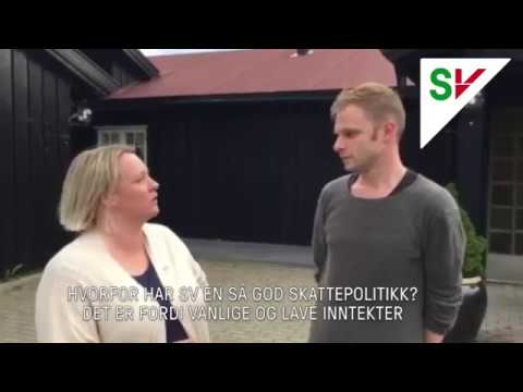 Yvonne Wold og Snorre Valen om SVs gode skattepolitikk