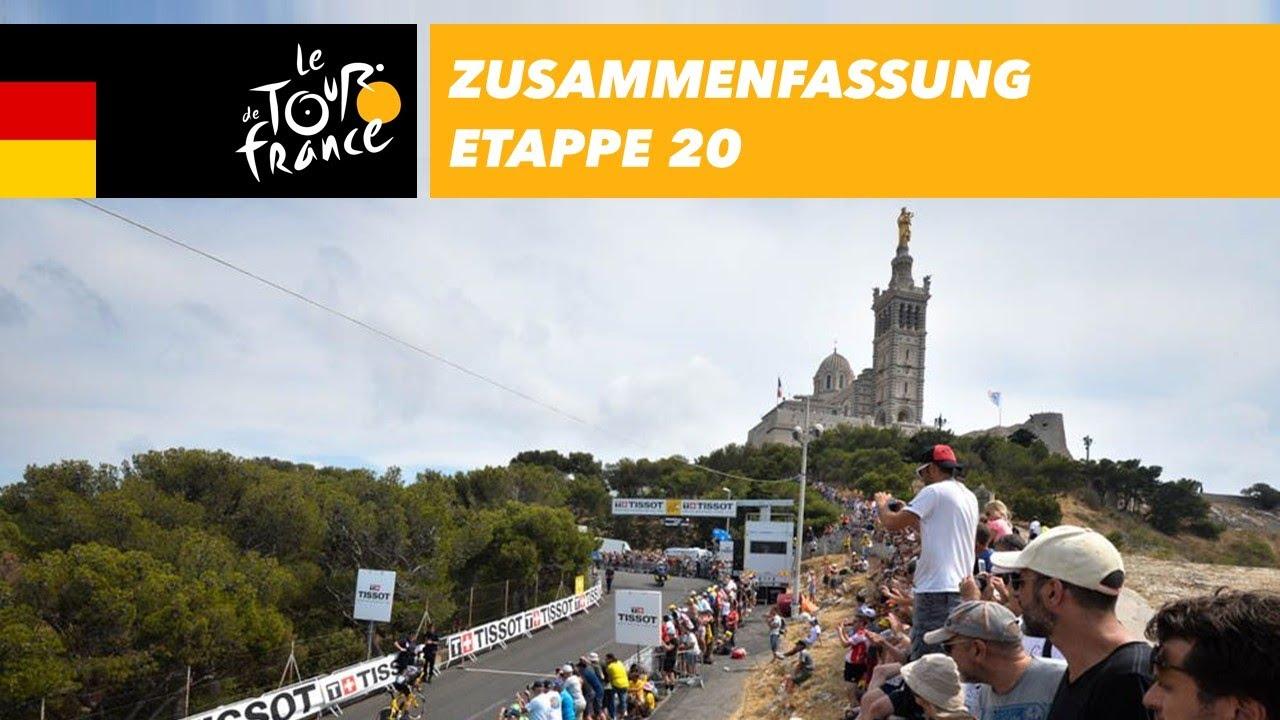 Zusammenfassung - Etappe 20 - Tour de France 2017 - YouTube