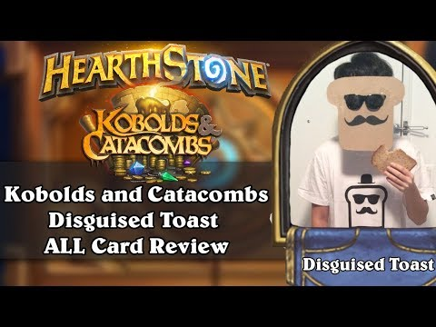 Disguised Toast Kobolds And Catacombs ALL Card Review!